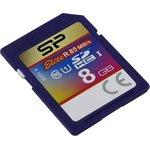 Карта памяти Silicon-Power Elite SDHC SP008GBSDHAU1V10 8GB