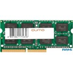 Оперативная память QUMO 8GB DDR3 SODIMM PC3-12800 QUM3S-8G1600C11L