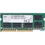 Оперативная память G.Skill 4GB DDR3 SODIMM PC3-12800 F3-1600C9S-4GSL