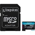Карта памяти Kingston Canvas Go! Plus microSDXC 256GB (с адаптером)