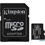 Карта памяти Kingston Canvas Select Plus microSDXC 512GB (с адаптером)