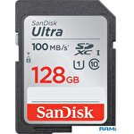 Карта памяти SanDisk Ultra SDXC SDSDUNR-128G-GN6IN 128GB