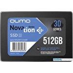 SSD QUMO Novation 3D TLC 512GB Q3DT-480GAEN