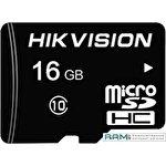 Карта памяти Hikvision microSDHC HS-TF-L2/16G 16GB