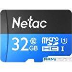 Карта памяти Netac P500 Standard 32GB NT02P500STN-032G-S