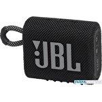 Беспроводная колонка JBL Go 3 (черный)