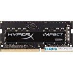 Оперативная память HyperX Impact 16GB DDR4 SODIMM PC4-19200 HX424S15IB2/16