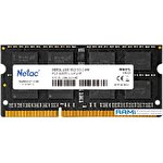 Оперативная память Netac Basic 8GB DDR3 SODIMM PC3-12800 NTCGD3N16SP-08