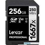 Карта памяти Lexar LSD256CB1667 SDXC 256GB