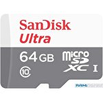 Карта памяти SanDisk Ultra SDSQUNR-064G-GN3MN microSDXC 64GB