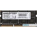 Оперативная память AMD Radeon R5 Entertainment 4GB DDR3 SODIMM PC4-12800 R534G1601S1S-U