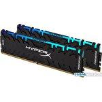 Оперативная память HyperX Predator RGB 2x32GB DDR4 PC4-28800 HX436C18PB3AK2/64