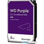 Жесткий диск WD Purple 6TB WD62PURZ