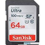 Карта памяти SanDisk Ultra SDXC SDSDUN4-064G-GN6IN 64GB