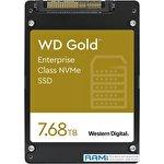SSD WD Gold 7.68TB WDS768T1D0D