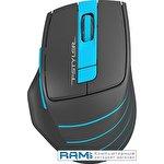 Мышь A4Tech Fstyler FG30S (черный/голубой)
