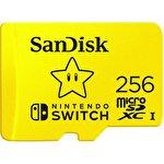 Карта памяти SanDisk For Nintendo Switch microSDXC SDSQXAO-256G-GNCZN 256GB