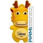 USB Flash Mirex DRAGON YELLOW 8GB (13600-KIDDRY08)