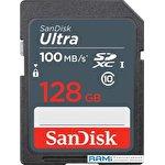 Карта памяти SanDisk Ultra SDXC SDSDUNR-128G-GN3IN 128GB