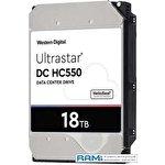 Жесткий диск WD Ultrastar DC HC550 18TB WUH721818ALE6L4