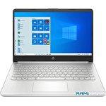 Ноутбук HP 14s-fq1014ur 3B3N0EA