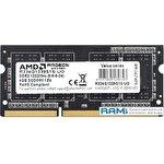 Оперативная память AMD Radeon R3 4GB DDR3 SODIMM PC4-10600 R334G1339S1S-UO