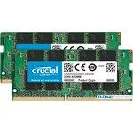 Оперативная память Crucial 2x4GB DDR4 SODIMM PC4-21300 CT2K4G4SFS6266