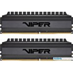 Оперативная память Patriot Viper 4 Blackout 2x32GB DDR4 PC4-25600 PVB464G320C6K