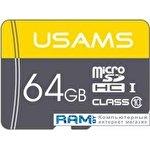 Карта памяти Usams US-ZB095 TF High Speed Card 64GB