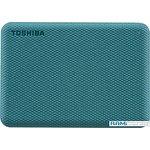 Внешний накопитель Toshiba Canvio Advance 4TB HDTCA40EG3CA (зеленый)