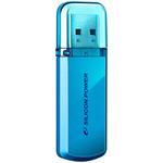 USB Flash Silicon-Power Helios 101 Blue 64GB (SP064GBUF2101V1B)