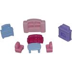 Набор мебели для кукол №2 (7 элементов в пакете)