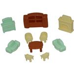 Набор мебели для кукол №3 (10 элементов в пакете)