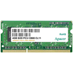 Память 4GB PC-12800 DDR3-1600 Apacer AS04GFA60CATBGJ (SODIMM)