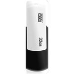 USB Flash GOODRAM UCO2 16GB (черный/белый) [UCO2-0160KWR11]