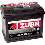Автомобильный аккумулятор Зубр Ultra (55 А/ч)