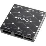 Хаб USB 5bites HB34-302PBK