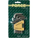 Набор ключей TORX с отверстием FORCE 5098T