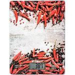 Кухонные весы Scarlett SC-KS57P09 красный перец