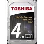 Жесткий диск Toshiba X300 4TB (HDWE140EZSTA)