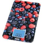Кухонные весы BBK KS107G темно-синий/красный