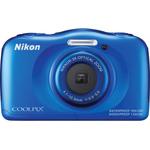 Фотоаппарат Nikon CoolPix W100 аквамарин (VQA014K001)
