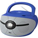 Аудиомагнитола BBK BX195U Blue/Grey