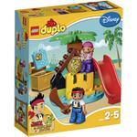 Конструктор LEGO 10604 Jake and the Never Land Pirates Treasure Island
