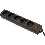 Сетевой фильтр Defender ES 5.0m Black 5 розеток OEM