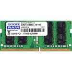 Оперативная память Goodram 8Gb DDR4 SODIMM PC4-17000 (GR2133S464L15/8G)