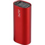 Портативное зарядное устройство APC Mobile Power Pack 3000 mAh (красный) (M3RD-EC)