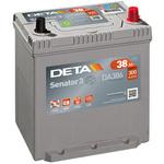 Автомобильный аккумулятор DETA Senator3 DA386 (38 А·ч)