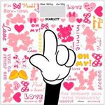 Весы напольные Scarlett SC-BSD33E004 белый/рисунок