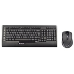 Клавиатура+Mышь A4Tech 9300F (GL-100+G7-630N) Black USB